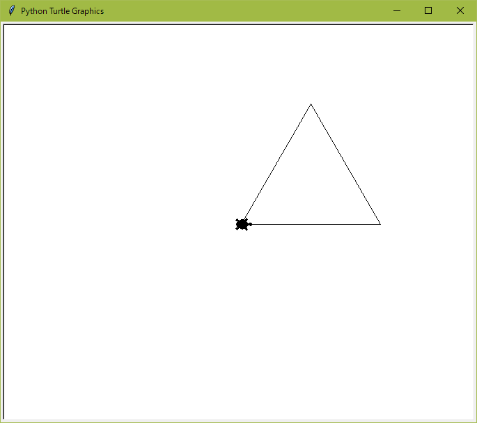 三角形の描画結果