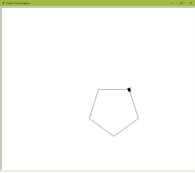 正六角形の描画結果